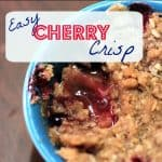easy cherry crisp recipe