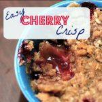 Easy Cherry Crisp