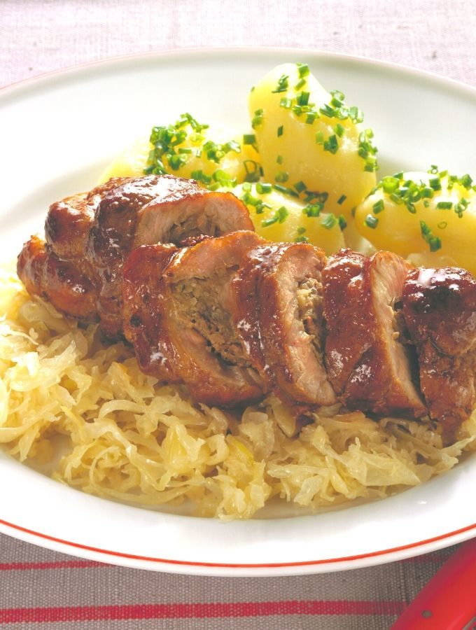 Pork on Sauerkraut