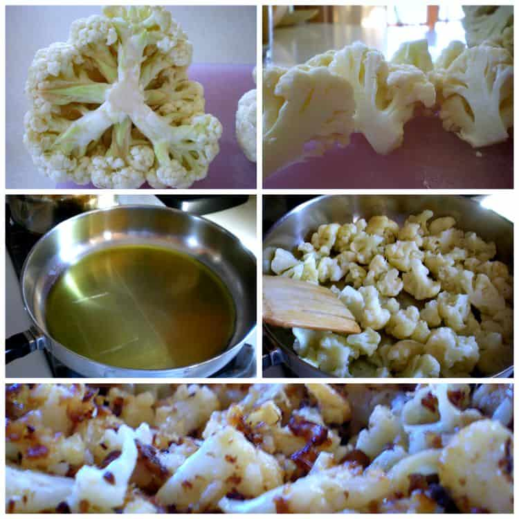 how to make fried cauliflower