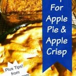 Homemade Apple Pie, Apple Crisp Recipe & More