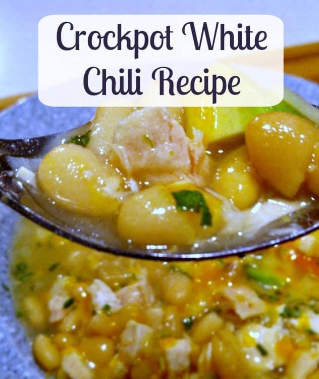 white chili crockpot recipe