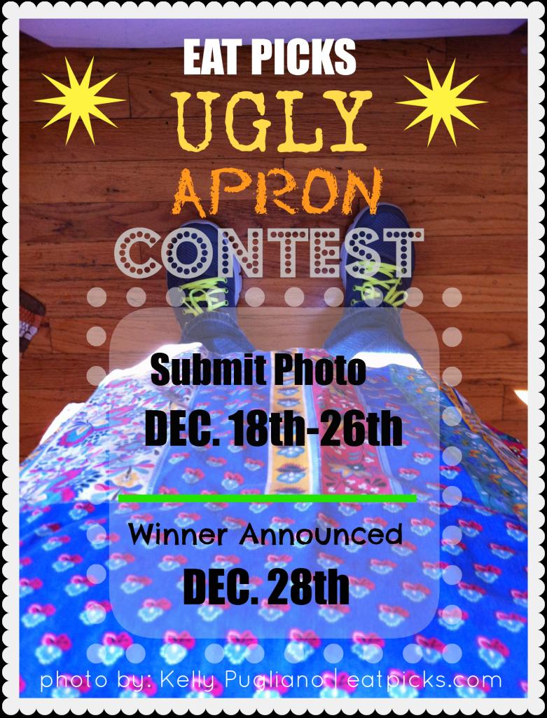 Blue apron video contest - Eat Picks Ugly Apron