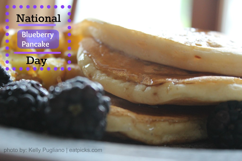 Blueberry Pancake Day eatpicks