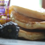 National Blueberry Pancake Day