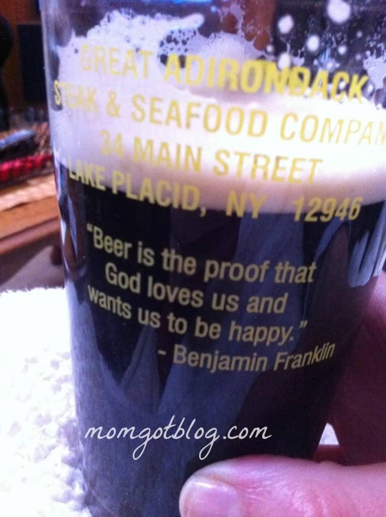 beer quote ben franklin