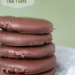 homemade thin mint cookies made with Ritz Crackers could be better than the real thing! Minty, chocolate and all good!