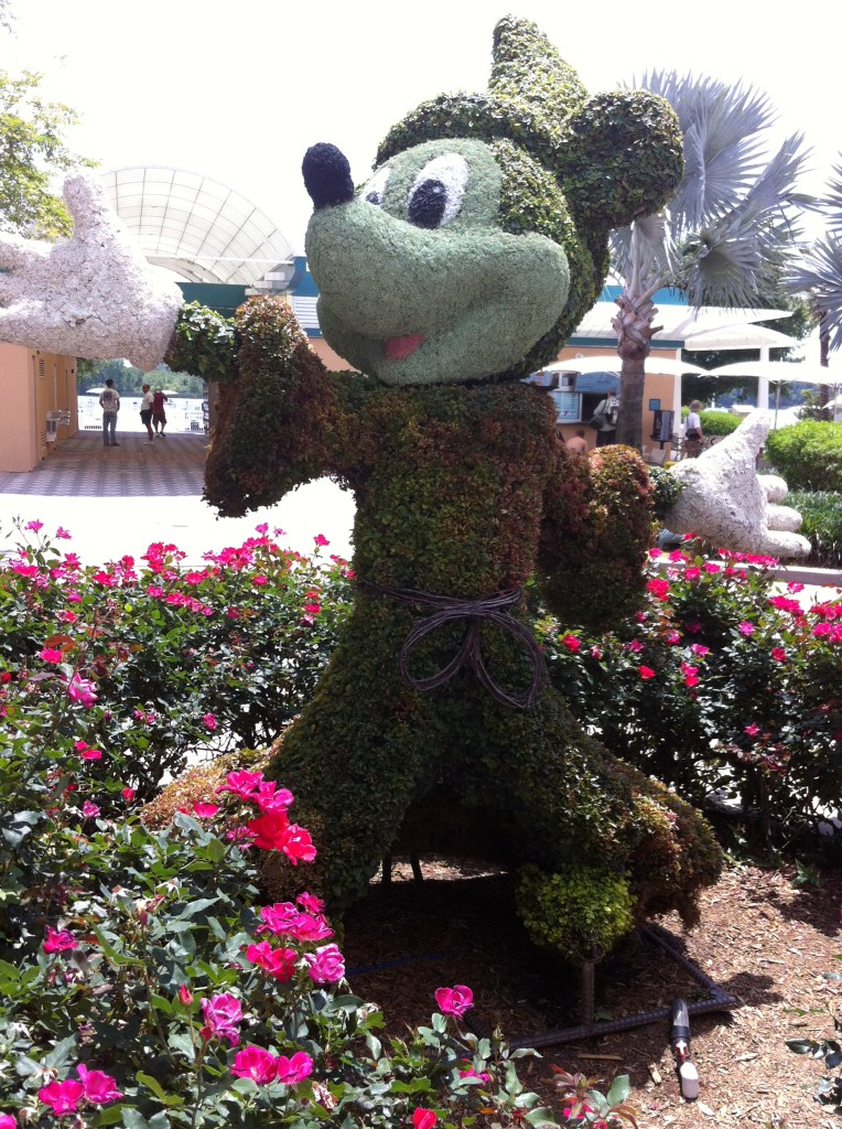 Floral Mickey Walt Disney World