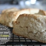 Sweet Cream Scones with #WhatsYourID