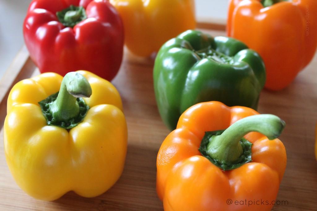 easy stuffed peppers eatpicks.com