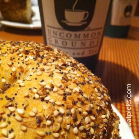 uncommon grounds saratoga bagel eatpicks