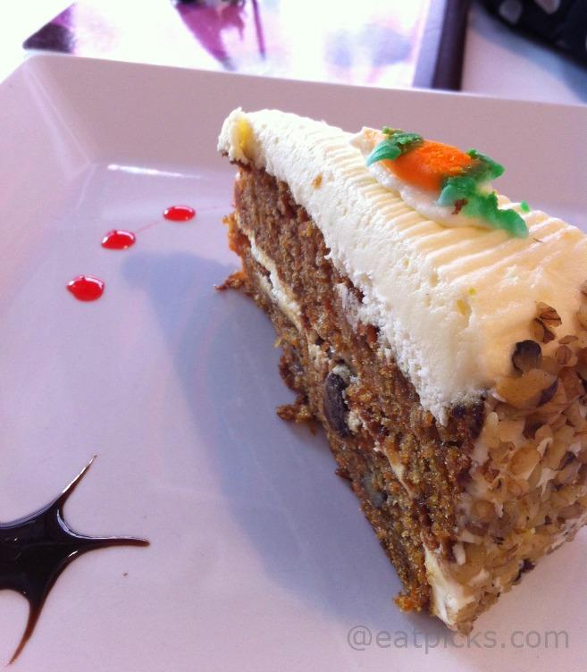 Lex Restaurant NYC carrot cake