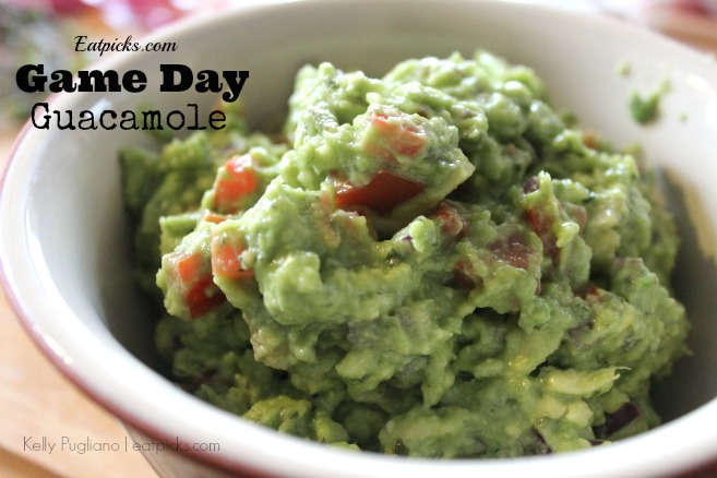 eatpicks game day guacamole