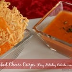 Baked Cheese Crisps | A Little Help for the Holidays from Kraft