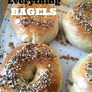 homemade everything bagels are perfect for bakery fresh taste at home! #Breakfast #recipe #bagels