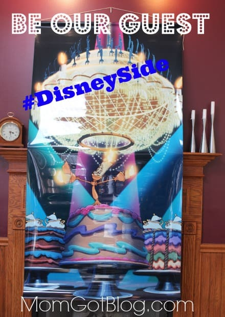 DisneySide Home Party Be our Guest