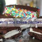 Summer savings make Brownie Ice Cream Sandwiches taste even sweeter