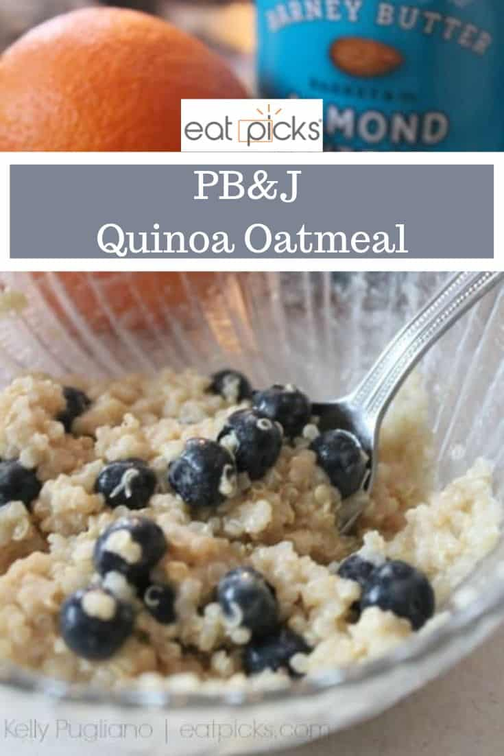 PBJ Quinoa Oatmeal is great alternative for oat sensitivity