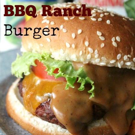kraft bbq ranch burger