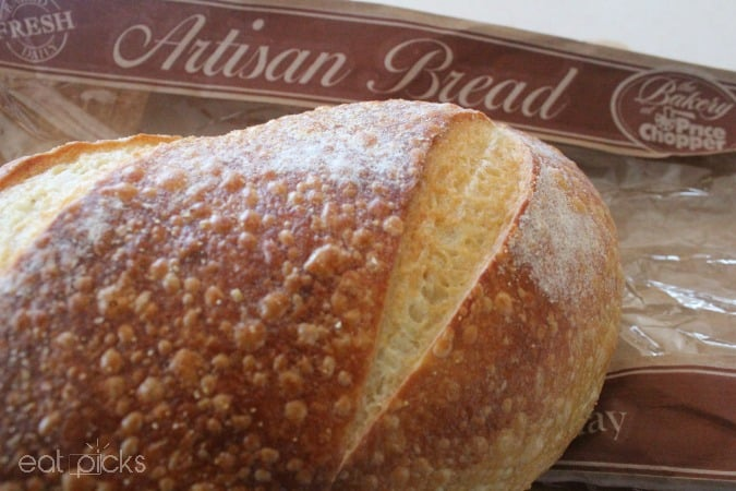 price chopper artisan bread