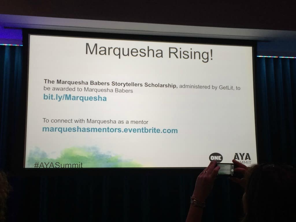 AYA Summit Marquesha Rising