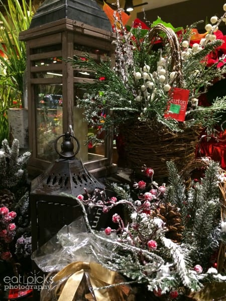 Price Chopper Holiday Floral department