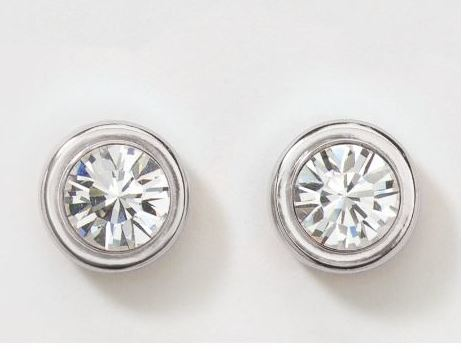 touchstone crystal ear studs