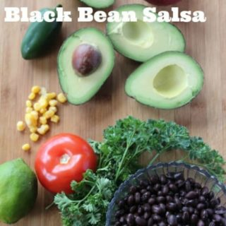 avocado black bean salsa