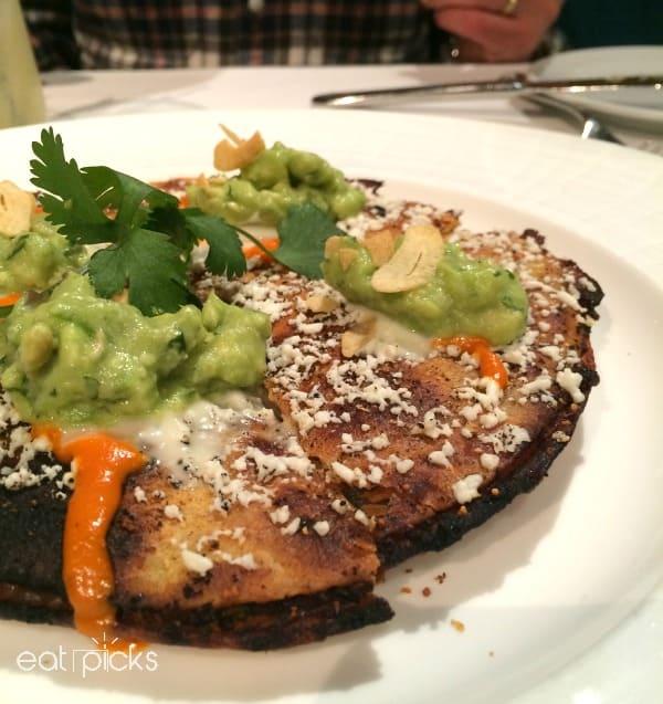 mesa grill black bean chicken quesadilla
