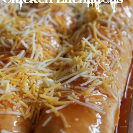 make ahead chicken enchiladas
