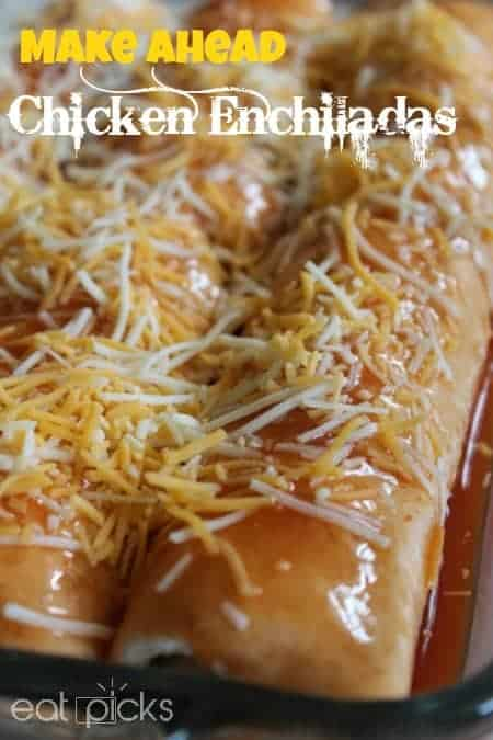 easy make ahead chicken enchilada recipe