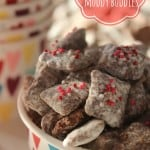 A Valentine Treat- Nutella Muddy Buddies