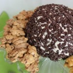 Chocolate Chip Cheese Ball Green bottom