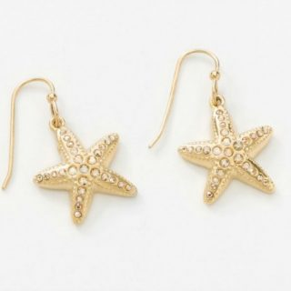 Golden SeaStar Earrings