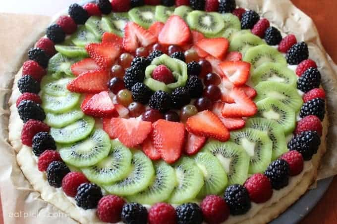 Fruit Tart finished