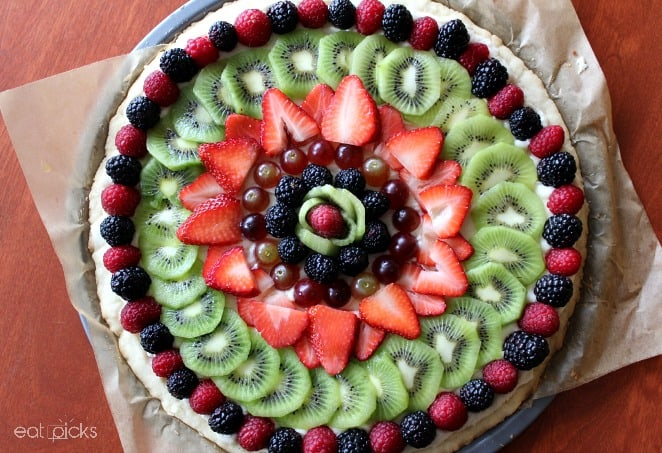 Fruit Tart  top
