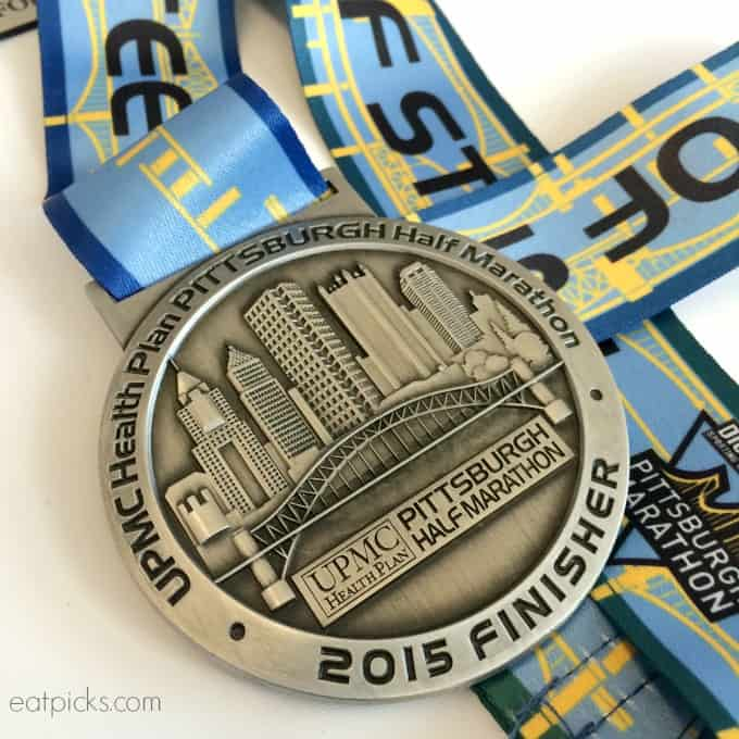 Pittsburgh Marathon Finisher Medal 2015