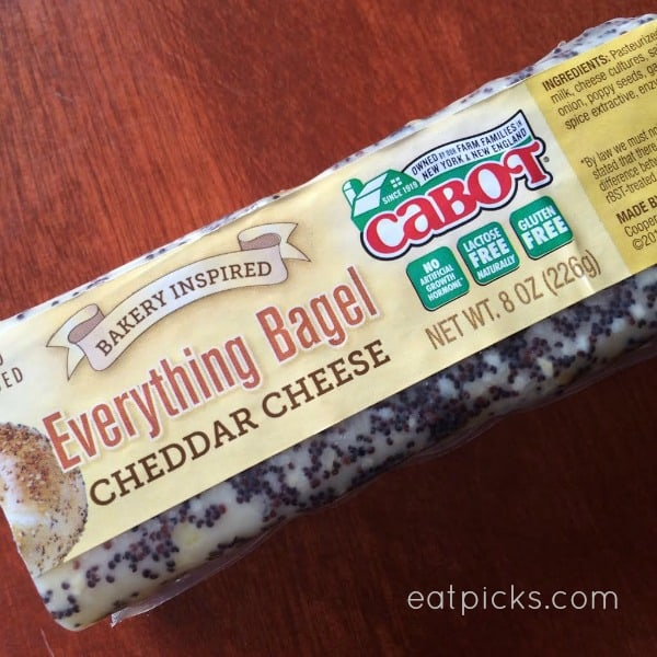 Cabot Everything Bagel Cheddar