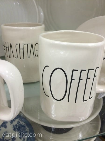 Coffee Hashtag mugs