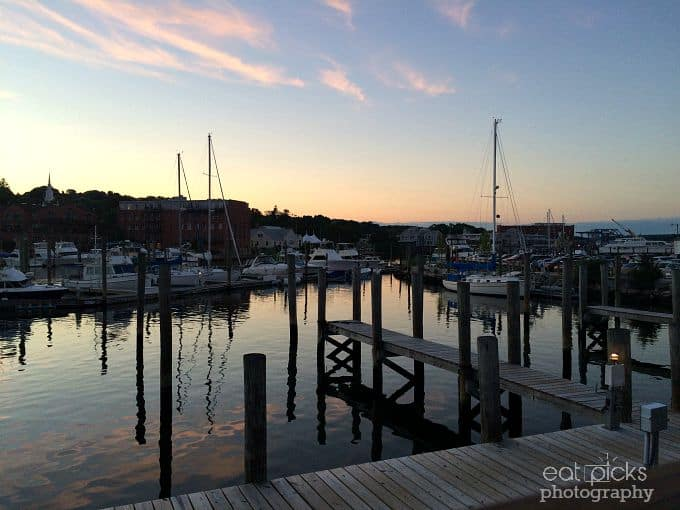 Sunset Mystic CT Marina