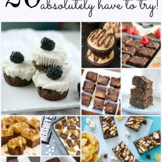 20 brownie recipes round up