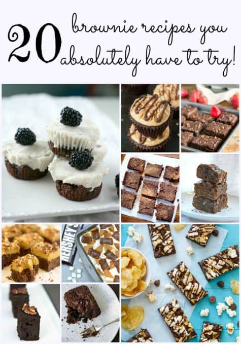 20 Brownie Recipes You Absolutely Have To Try!