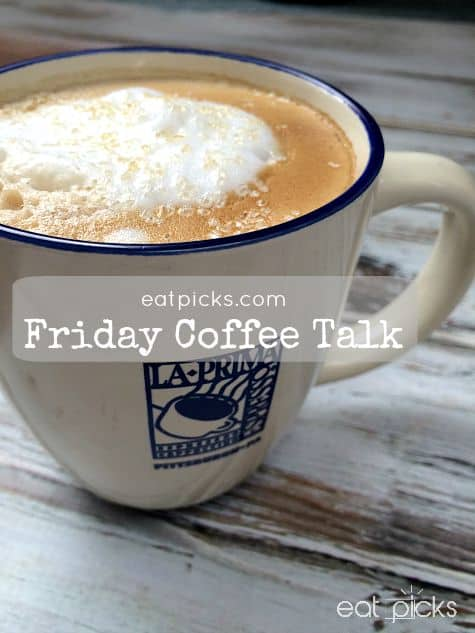 Friday Coffee Talk is Cappuccino Time