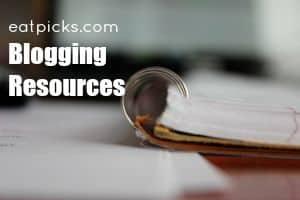blogging resources button