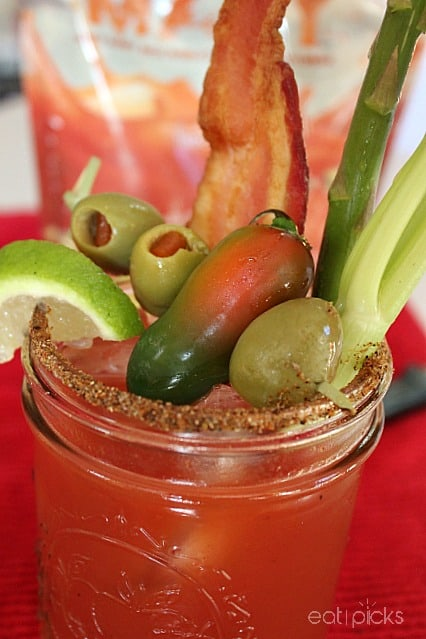 BloodyMary with all Garnish
