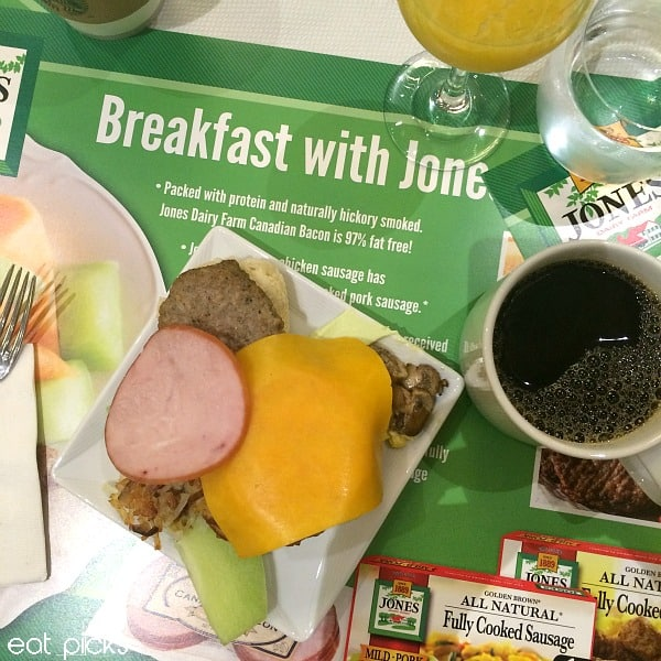 Jones Breakfast with Black Coffee