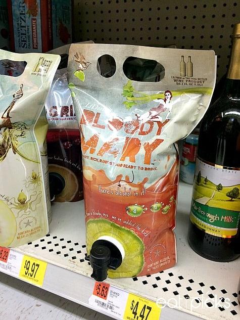 LiDestri Bloody Mary Mix on shelf