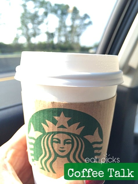 coffee in car ride