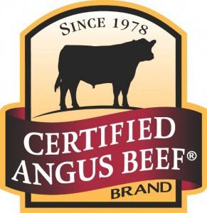 Certified Angus Beef Brand logo post