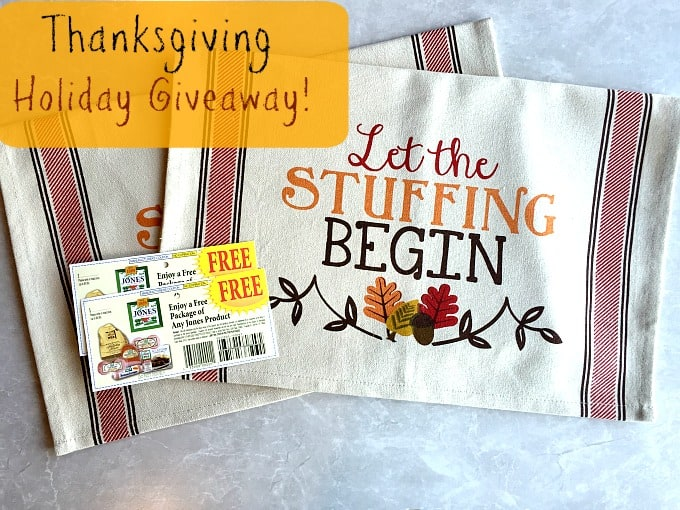 Thanksgiving Holiday Giveaway